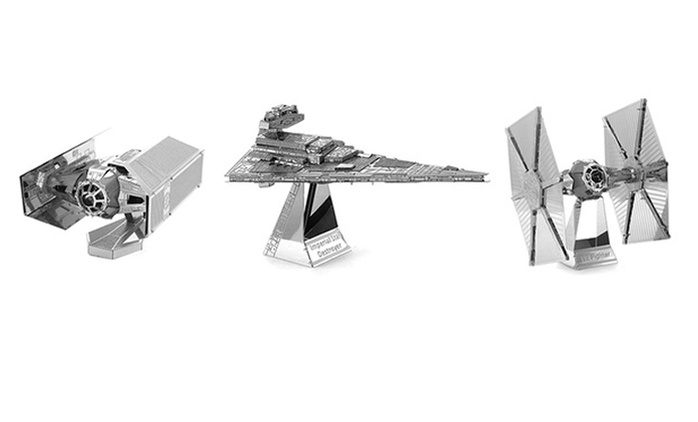 Star Wars 3D Miniature Puzzle in Choice of Design for AED 35 (65% Off)
