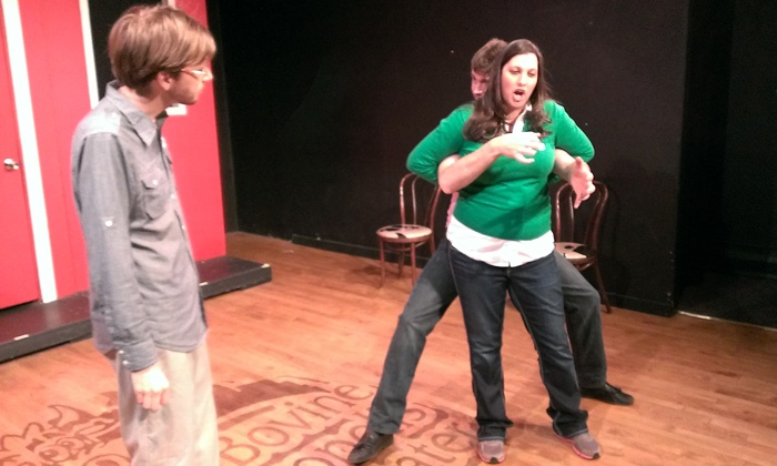 """""""On The Spot"""" - Central Business District: """"On the Spot"""" Improv Show for Two or Four at Bovine Metropolis Theater (Up to 49% Off)"""