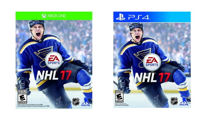 NHL 17 Pre-Order for PS4 and Xbox One
