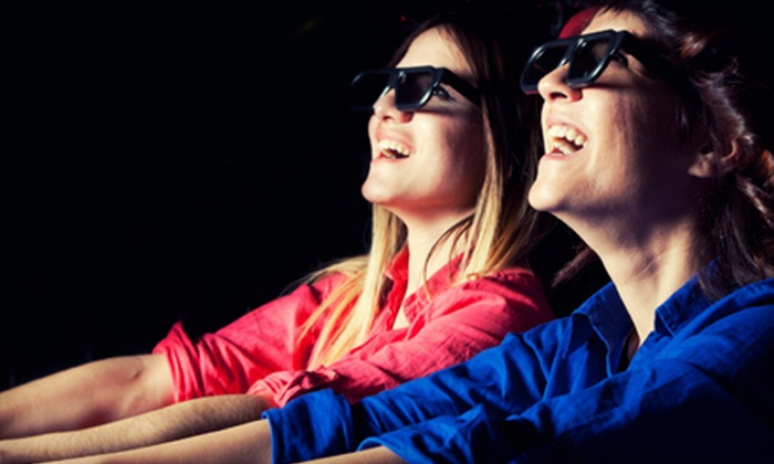 PIX 5D Cinema - Schaumburg: 5-D Movie Experience for Two, Four, or Six at PIX 5D Cinema (Up to 55% Off)