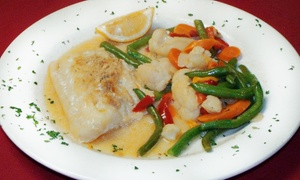 Lena's Restaurant: $17 for $30 Worth of Seafood, Brick-Oven Pizza, and Pasta at Lena's Restaurant