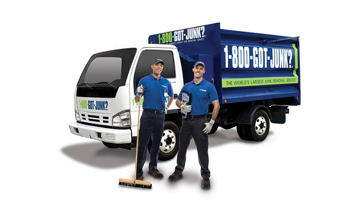 1-800-GOT-JUNK? - Kelowna: C$59 for 2 Cubic Yards of Junk Removal from 1-800-GOT-JUNK? (C$135 Value)