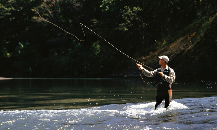 Elusive  Fly Fishing - Multiple Locations: Four-Hour Fly-Fishing Tour for Two or Four from Elusive Fly Fishing (Up to 57% Off)