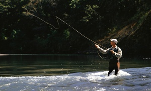 Elusive Fly Fishing: Four-Hour Fly-Fishing Tour for Two or Four from Elusive Fly Fishing (Up to 55% Off)