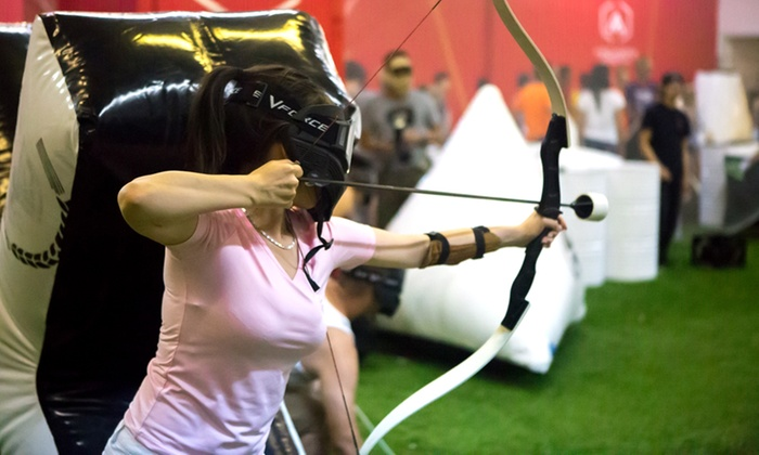 Archers Arena - North York: Archery Tag for Up to 8, 10, or 20 at Archers Arena (Up to 55% Off)