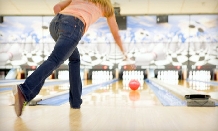 Thunder Bowl - Mokena: Two Hours of Bowling with Pizza for Up to Six or Kids' Eight-Week Bowling League at Thunder Bowl (Up to 66% Off)