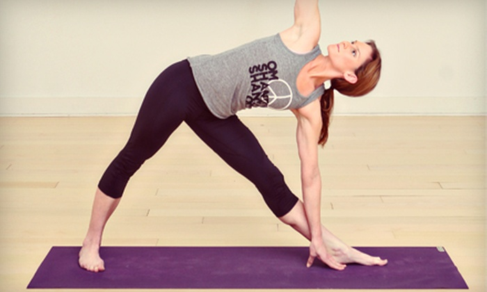 Invoke Studio - Pike: $30 for 30 Days of Unlimited Yoga or Pilates Mat Classes at Invoke Studio (Up to $99 Value)