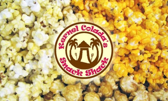 Kernel Colada's Snack Shack - Columbia City: $13 for Three Large Bags of Gourmet Popcorn at Kernel Colada's Snack Shack in Columbia City