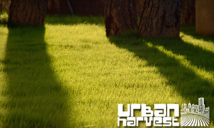 Urban Harvest - Corridor South: $25 for One Application of Organic Lawn Spray from Urban Harvest ($50 Value)