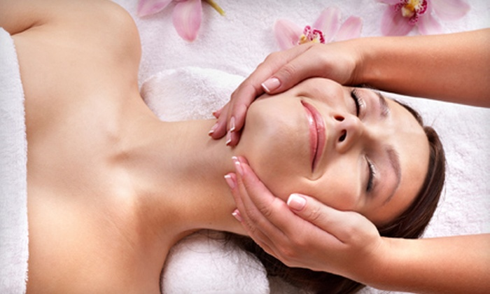 Michelle at Blush Hair Studio and Spa - Sugar House: $30 for a 60-Minute Full Body Massage and 15-Minute Head Massage at Blush Hair Studio and Spa ($65 Value)