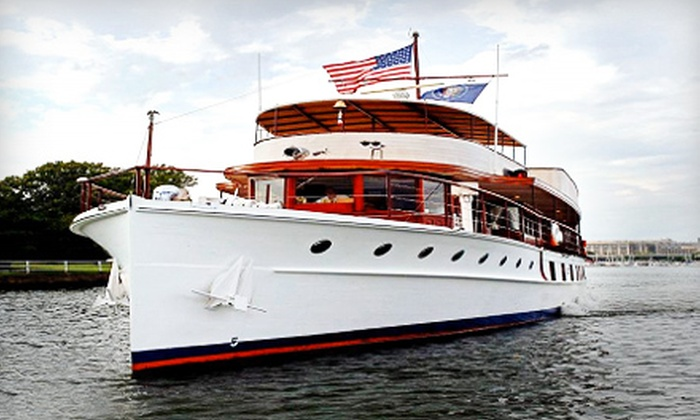 """USS """"Sequoia"""" Presidential Yacht - Southwest - Waterfront: Two-Hour Presidential-Yacht Cruise from the USS """"Sequoia"""" in Washington, DC. Nine Options Available."""
