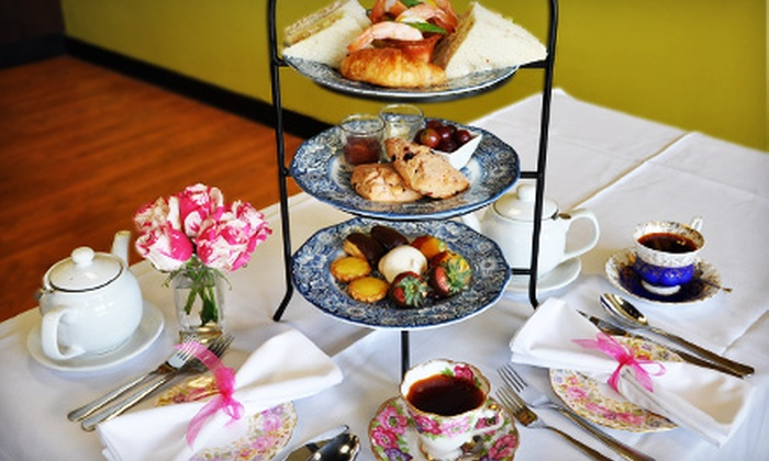 Moulin de Paris - Lake Shore: Afternoon Tea for Two or Four, Including Scones, Sandwiches, and Desserts with Champagne Option at Moulin de Paris in Pasadena (Up to 56% Off)