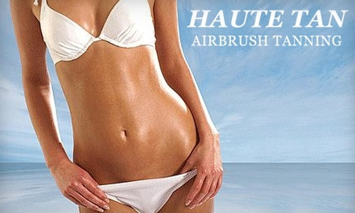 Haute Tan Airbrush Tanning - San Jose: $15 for a Custom Airbrush Tan at Haute Tan Airbrush Tanning ($45 Value)