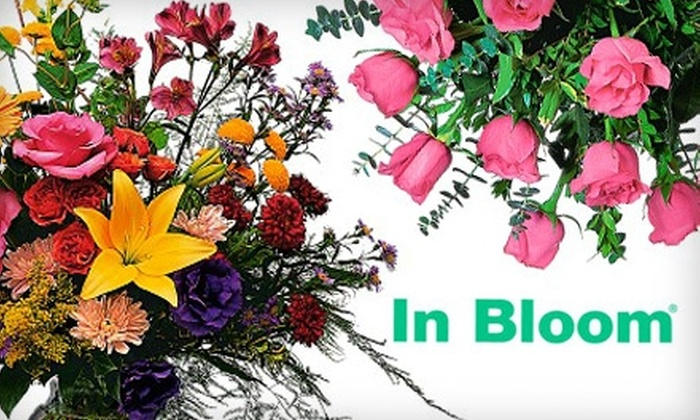 In Bloom Flowers - Multiple Locations: $20 for $40 Worth of Floral Arrangements Online from In Bloom Flowers