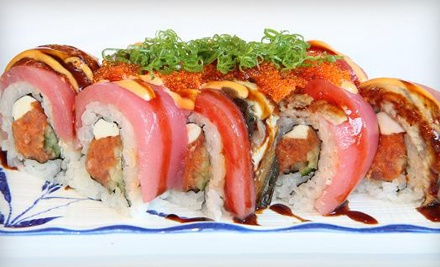 $20 Groupon to FuruSato Sushi Japanese Restaurant - FuruSato Sushi Japanese Restaurant in Campbell