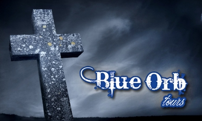 Blue Orb Tours - Historic District - North: $35 For Two Tickets to Blue Orb Tour's Midnight Zombies Tour ($70 value)