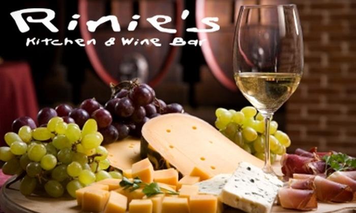 Rinie's Kitchen & Wine Bar - Lawton: $15 for $30 Worth of Fusion Fare at Rinie's Kitchen & Wine Bar in Lawton