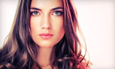 Cut, Style, Blow-Dry, and Half Highlights (a $140 value) - Luxe Salon & Spa in Staten Island