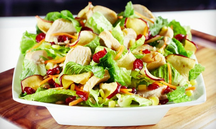 Saladworks - North Scottsdale: $10 for $20 Worth of Healthy Cuisine at Saladworks