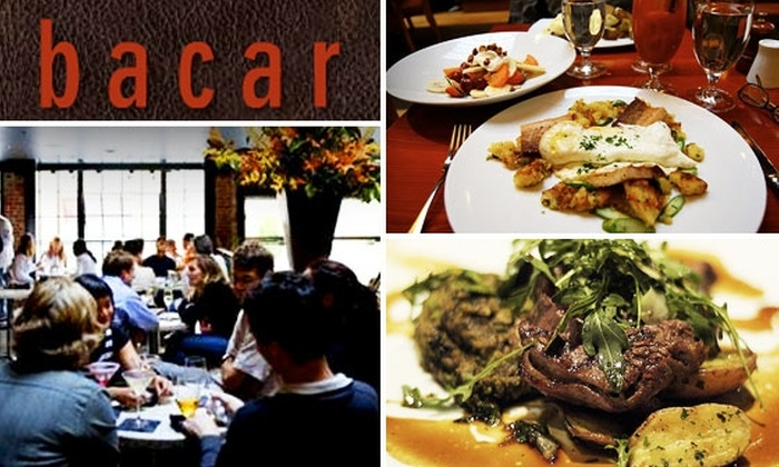 Bacar - Mission Bay: $15 for a $35 Groupon to Bacar's Sunday Brunch
