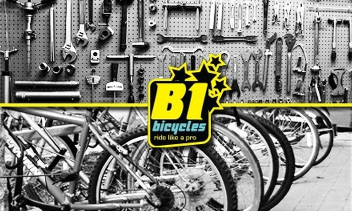B1 Bicycles - Downtown Columbus: $20 for One Bicycle Tune-Up at B1 Bicycles ($60 Value)