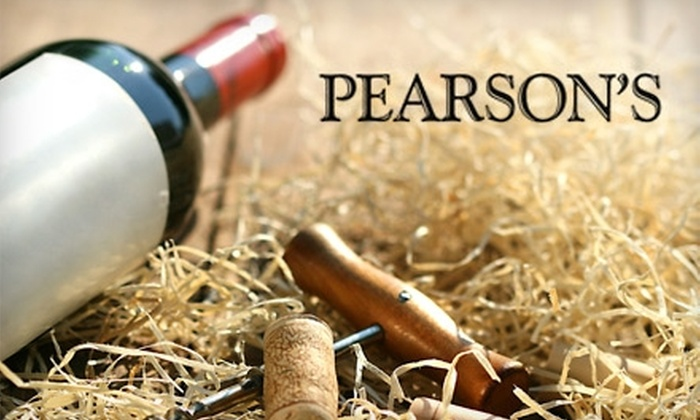 Pearson's Wine & Spirits - Glover Park: $40 for a Three-Bottle Suite of Wines at Pearson's Wine & Spirits ($81.99 Value)