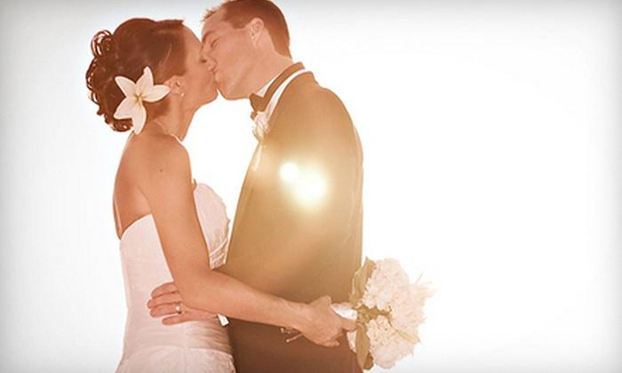 Port Aransas Weddings - Port Aransas: $425 for Candlelit Beach-Wedding Ceremony with Officiant and Wedding Coordinator from Port Aransas Weddings ($850 Value)