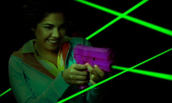 The Woods Laser Tag - Ocoee: Laser-Tag Outing for One, Two, or Four at The Woods Laser Tag in Ocoee (Up to 57% Off)