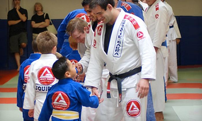 Gracie Barra Brazilian Jiu-Jitsu Academy - Santa Barbara Downtown: $20 for One Month of Unlimited Classes at Gracie Barra Brazilian Jiu-Jitsu Academy (Up to $206 Value)