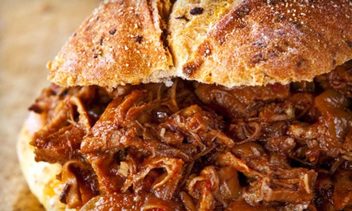 Joe's Texas BBQ - Olde Norwood: Barbecue Sandwich Meal for Two or Family Meal with Slaw, Beans, and Potato Salad at Joe's Texas BBQ (Up to 54% Off)