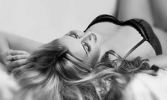 """Flash Boudoir - Downtown Scottsdale: $89 for Boudoir Photo Package with Champagne, 8""""x10"""" Print, and $50 Credit at Flash Boudoir in Scottsdale ($395 Value)"""