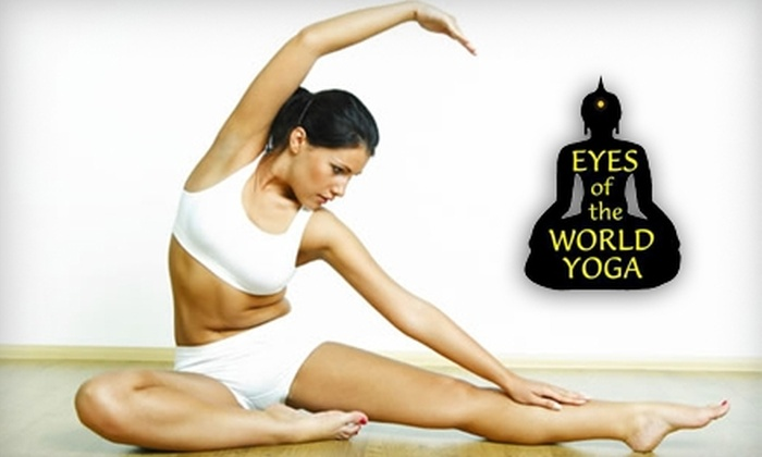 Eyes of the World Yoga - Downtown Providence: $27 for Three Beginner Classes with Mat Rental at Eyes of the World Yoga