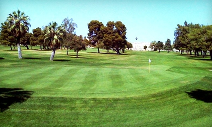 Buena Vista Golf Course - Dustin Acres: $45 for a Round of Golf for Two, Cart Rental, and Two Buckets of Range Balls at Buena Vista Golf Course in Taft