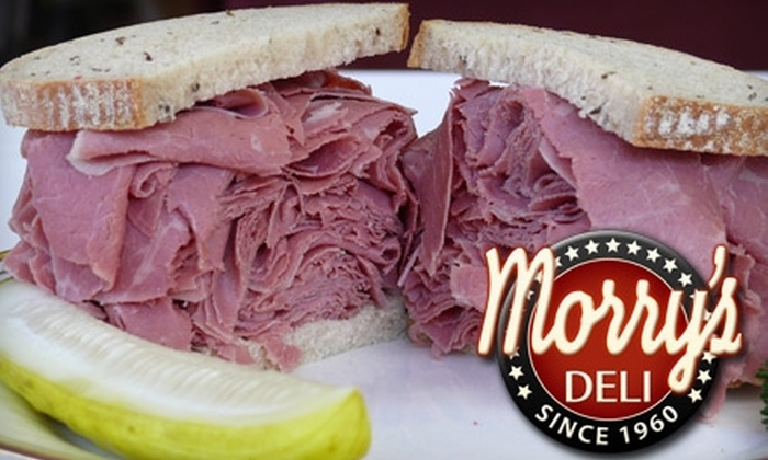 Morry's Deli - Hyde Park: $5 for $10 Worth of Sandwiches, Drinks, and More at Morry's Deli