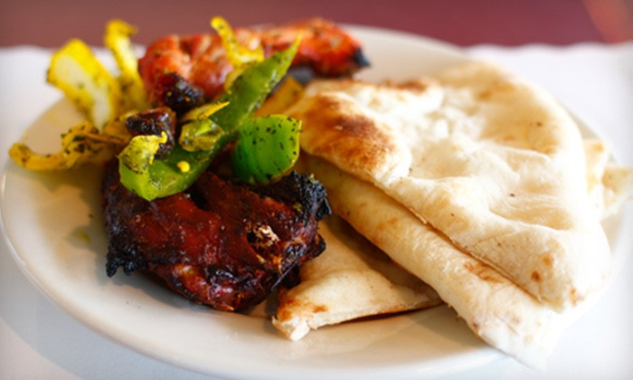 Nirvana II - Second Ward: Indian Fusion Fare for Lunch at Nirvana II (Up to 53% Off). Three Options Available.