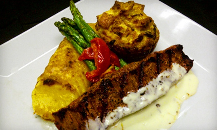 London Grill - Downtown: Four-Course Prix Fixe Dinner for Two or Four at London Grill