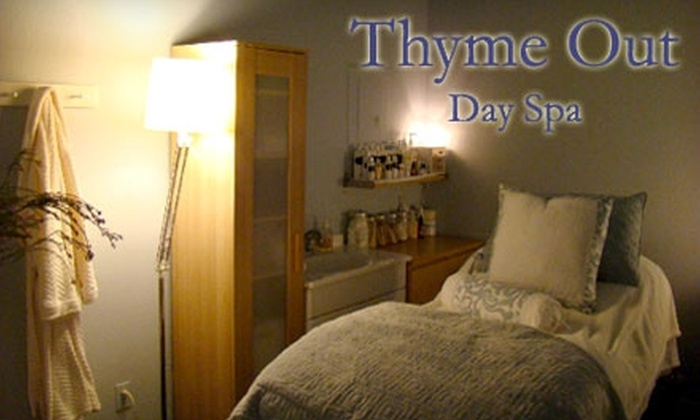 Thyme Out Day Spa - Pacific: $30 for a Customized Facial at Thyme Out Day Spa ($75 Value)
