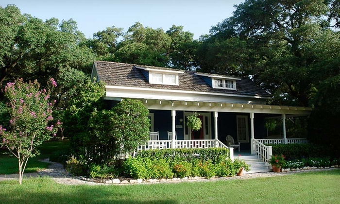 BlissWood Bed & Breakfast - Columbus: Two-Night Stay for Two at BlissWood Bed and Breakfast in Texas. Four Options Available.