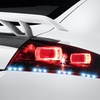 "2-Pack 10"" Daytime Running Car Lights Square LED Strips"