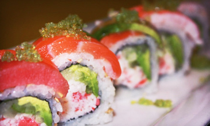 Sushi Creek - Queen Creek: $15 for $30 Worth of Sushi and Continental Japanese Fare at Sushi Creek in Queen Creek
