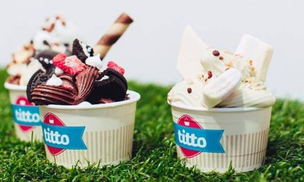 Uno o 2 kg di gelato a scelta