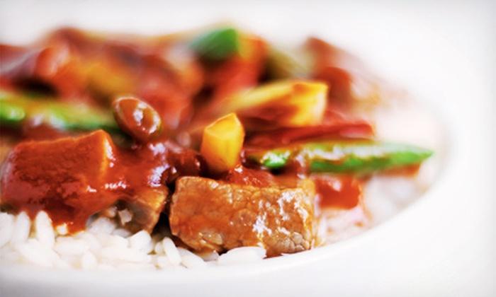 Christina Wan's Mandarin House - Victoria Park: $15 for $30 Worth of Chinese Food at Christina Wan's Mandarin House