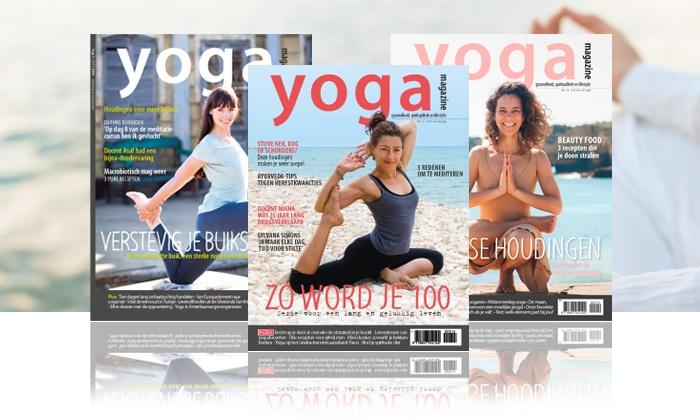 yoga magazine incl yogatv online groupon goods. Black Bedroom Furniture Sets. Home Design Ideas