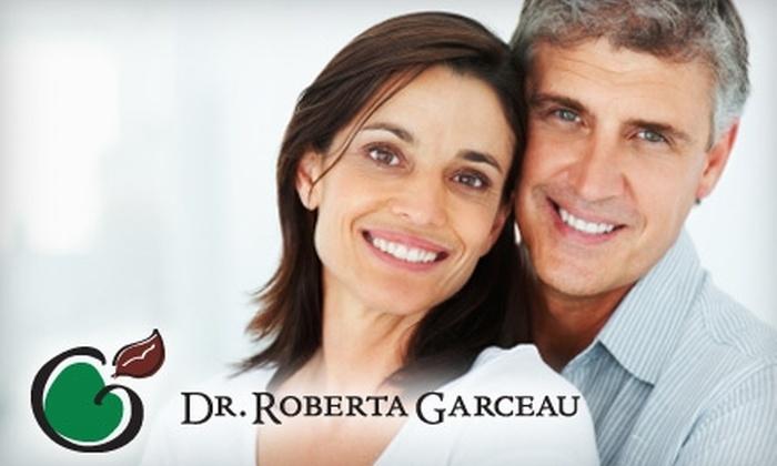 Dr. Roberta Garceau - Windsor: $160 for Consultation and Sapphire Plasma Arc Teeth Whitening with Dr. Roberta Garceau ($625 Value)