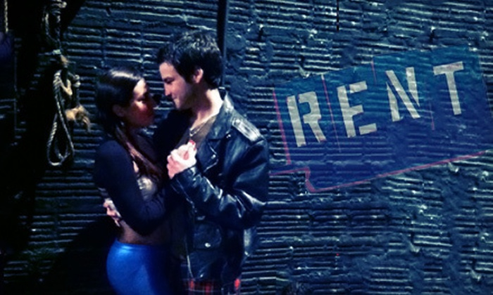 """""""Rent"""" presented by Hingham Civic Music Theatre - Hingham: $21 for a Theater Package for Two to Hingham Civic Music Theatre's """"Rent"""" on April 14, 21, or 22 (Up to $45.38 Value)"""