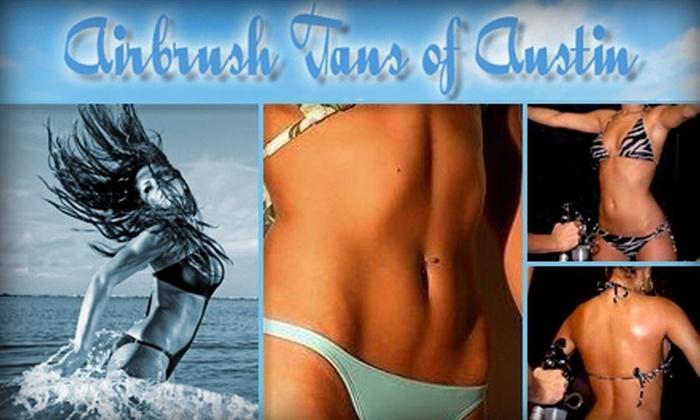 Airbrush Tans of Austin - Northwest Austin: $35 for One Airbrush Session at Airbrush Tans of Austin