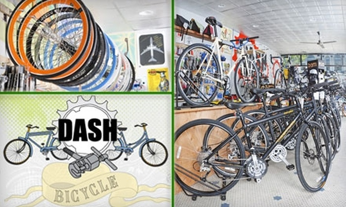 Dash Bicycle Shop - Providence: $30 for a Summer's End Basic Bike Tune-Up at Dash Bicycle Shop ($63 Value)