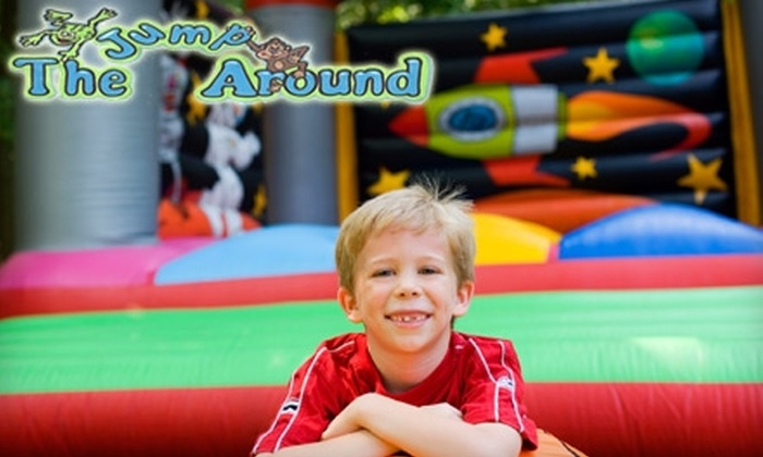 The Jump Around Inflatable Playground  - Over Place Area: $10 for One 30-Day Membership to The Jump Around Inflatable Playground