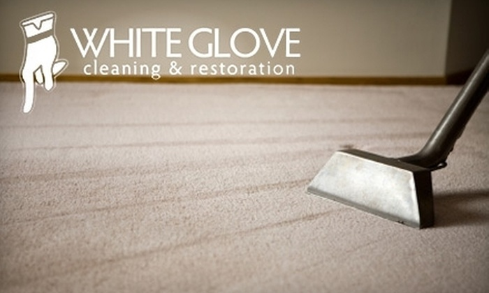 White Glove Cleaning and Restoration - Plymouth - Wayzata: Carpet, Sofa & Vent Cleaning Services from White Glove Cleaning & Restoration. Four Options Available.