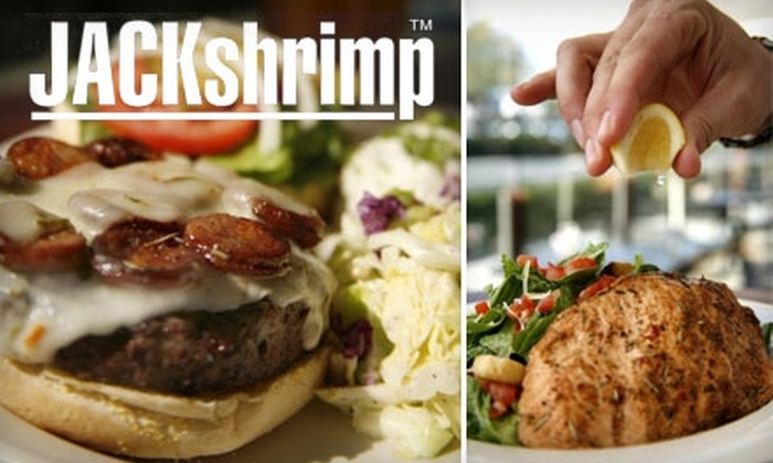 JACKshrimp - Newport Beach: $20 for $40 Worth of Louisiana Cuisine at JACKshrimp